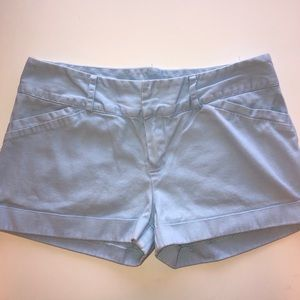 Rue 21 Double Clasp Blue Shorts